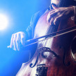 Cellist — Stock Photo