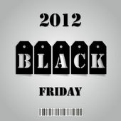 Black Friday 2012 — Stock fotografie
