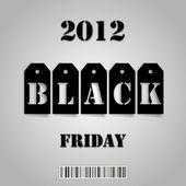 černý pátek 2012 — Stock fotografie