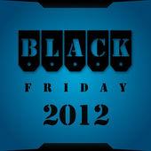 ブラックフラ イデー 2012年 — ストック写真