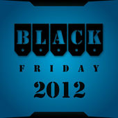 Black Friday 2012 — Stock Photo