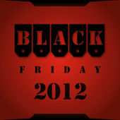 Black Friday 2012 — Stock Photo