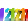 Stock Photo: 12-12-12 Special Day