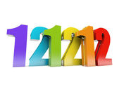 12-12-12 Special Day — Stock Photo