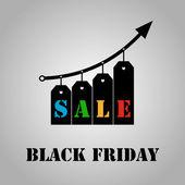Black Friday — Stock Vector