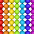Colored eggs — Foto de Stock