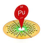 Plutonium — Stock Photo