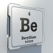 Beryllium — Stock Photo
