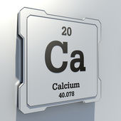 Calcium — Stock Photo