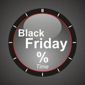 Black friday time! — Stock Photo