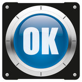OK button — Stock Photo