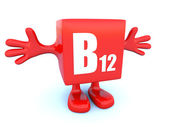 B12 vitamin — Stock Photo
