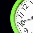 Green Clock — Stock Video #13393450