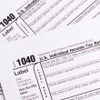 1040 tax form — Stock Photo #7140295