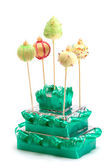 Christmas cake pops — Foto Stock