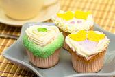 Cupcakes de san valentín — Foto de Stock
