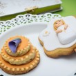 First Communion Cookies — Stock Photo