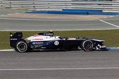 ウィリアムズ f1 チーム - 出るバルテリ ・ ボッタス - 2013 — ストック写真