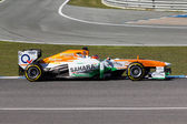 Sahara Force India F1 Team - Jules Bianchi - 2013 — Stock Photo