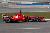 Scuderia Ferrari - Pedro Martinez de la Rosa - 2013 — Stock Photo