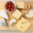 Stock Photo: Cheeseboard