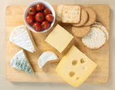 Cheeseboard — Stock Photo