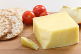 English Cheddar cheese — Stock Photo