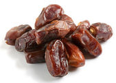 Heap of high quality dates — Stock Photo