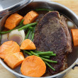 Pot roast with sweet potato — Stock Photo #13267809