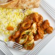 Jalfrezi high angle — Stock Photo