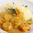 Stock Photo: Prawn korma