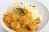 Prawn korma — Stock Photo