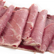 Stock Photo: Corned beef closeup
