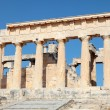 Temple of Aphaia from the path - Stock Photo