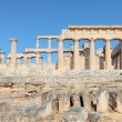 Temple of Aphaia side view - Stock Photo