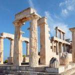 Temple on Aegina — Stock Photo