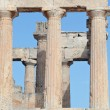 Ancient Doric columns — Stock Photo