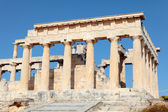 Temple of Aphaia from the path — Stock Photo