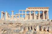 Temple of Aphaia side view — Stock Photo