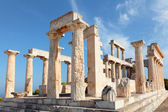 Temple on Aegina — Stock Photo