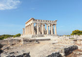 Temple of Aphaia in Aegina — Stock Photo