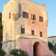 Markellos Tower in Aegina - ストック写真