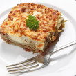 Stock Photo: Homemade lasagne verdi