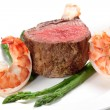 Surf and turf — Stock Photo #17658493