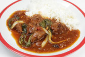 Asian style anise lamb curry — Stock Photo