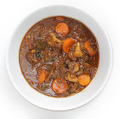 OXtail stew high angle — Stock Photo