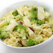 Romanescu and pasta serving bowl — Stock Photo #19828783