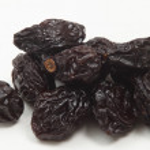 Pile of prunes closeup — Stock Photo