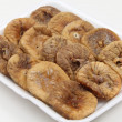 Dried figs on a tray angled — Stock Photo #25820023