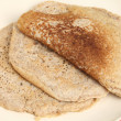 North Staffordshire oatcakes — 图库照片